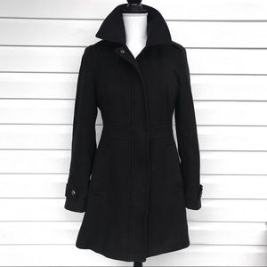 •ESPRIT• EUC Chic Tailored Fit Blended Wool Coat